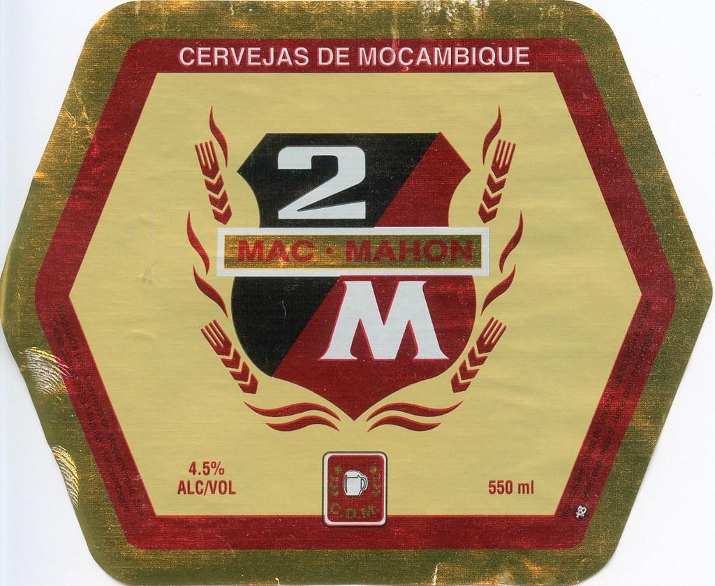 2m beer label