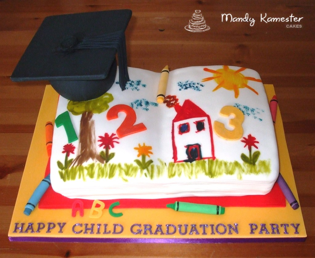 Image Preschool Graduation Cake Ideas