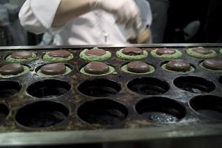 東京焼きマカロンショコラ, Pâtisserie Sadaharu Aoki Paris, Salon du Chocolat Tokyo 2011, Shinjuku Isetan