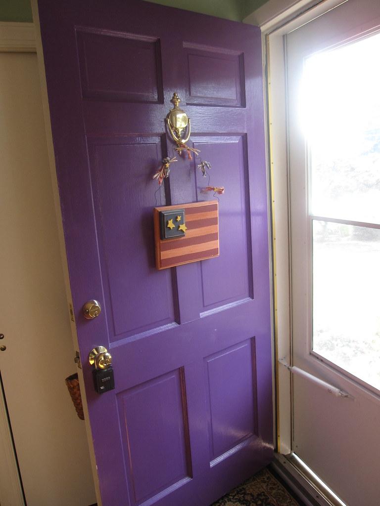 Purple Front Door Adr25 Flickr