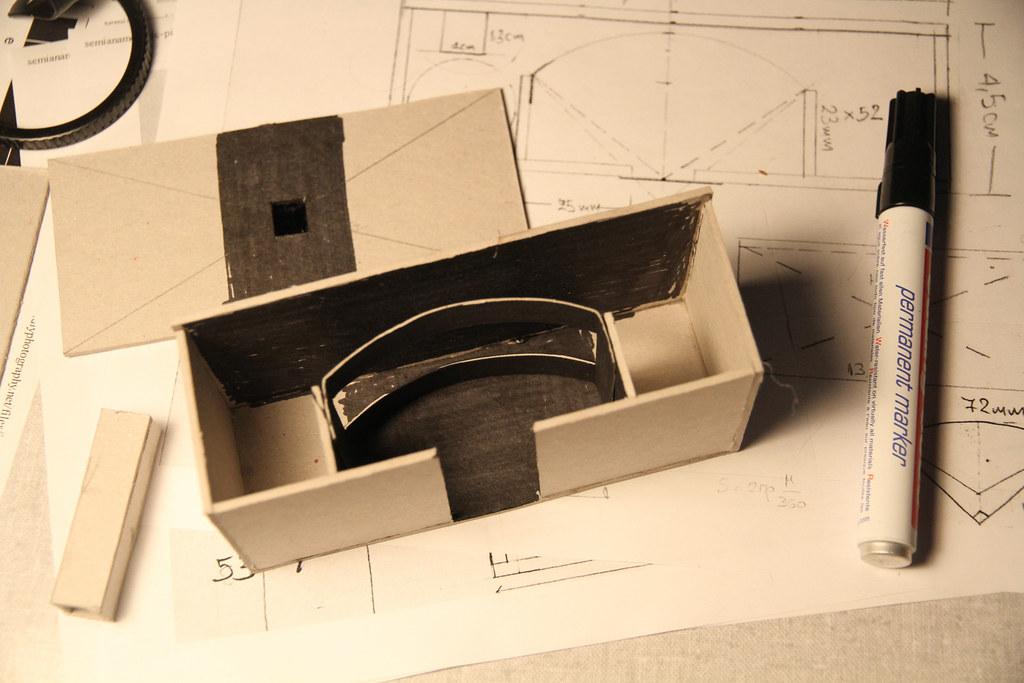 DIY Panoramic Pinhole Camera