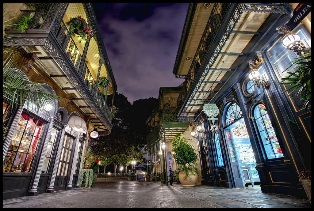 Disneyland New Orleans Square New Orleans Square Was
