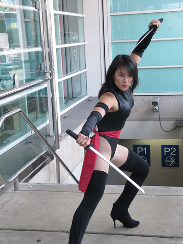 Woman Wielding Swords, 2011 San Diego Comic Con | by Patty Mooney