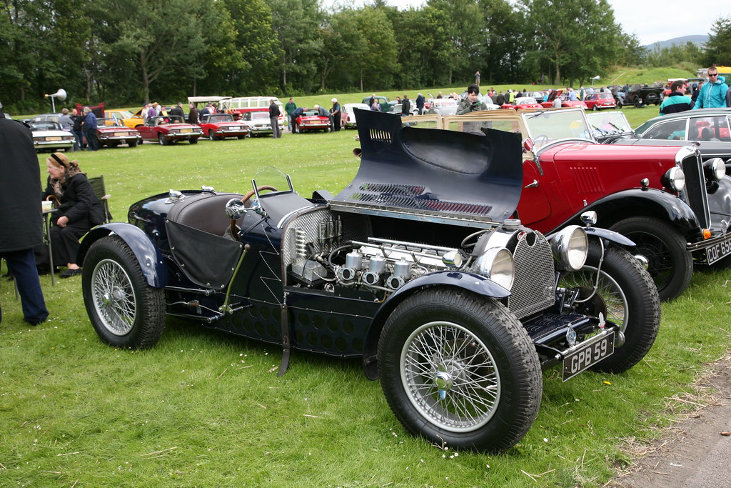 Gpb Replica Bugatti Type 59 Jaguar Xk Engine Graham