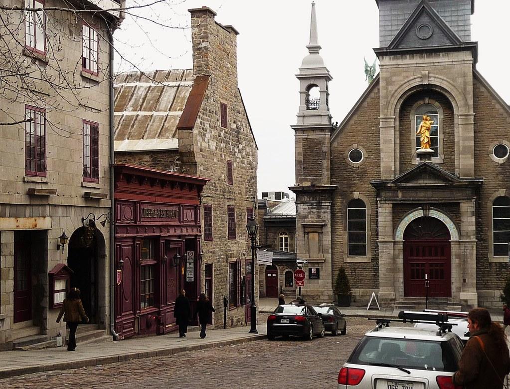 Vieux montr al 26 mars 2009 rue de bonsecours sud angl for A la maison de pierre et dominique montreal