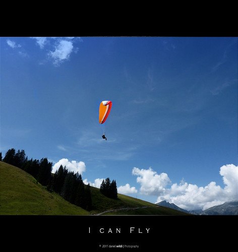 I can fly... | by Daniel Wildi Photography
