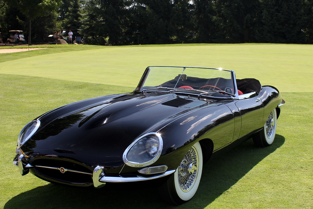1964 jaguar series 1 e type convertible seen at the. Black Bedroom Furniture Sets. Home Design Ideas