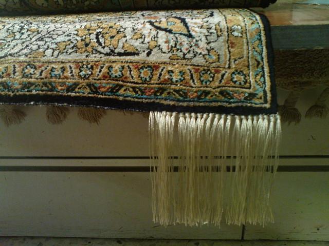 Restauracion de flecos alfombras persas proveedor for Alfombraspersas
