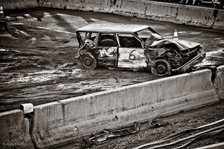Making friends at the Demolition Derby-12 | by alan shapiro photography