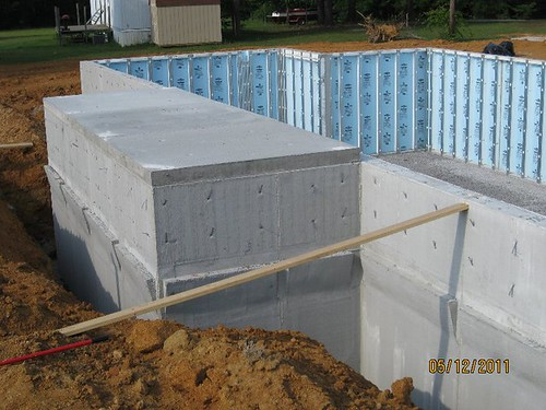 Safe Room Built W In The Foundation Incorporated Into