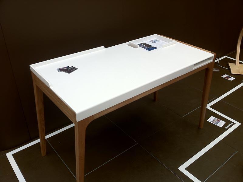 Brad Mole - Corian® Desk Top | Elegantly shaped desk top, ma… | Flickr