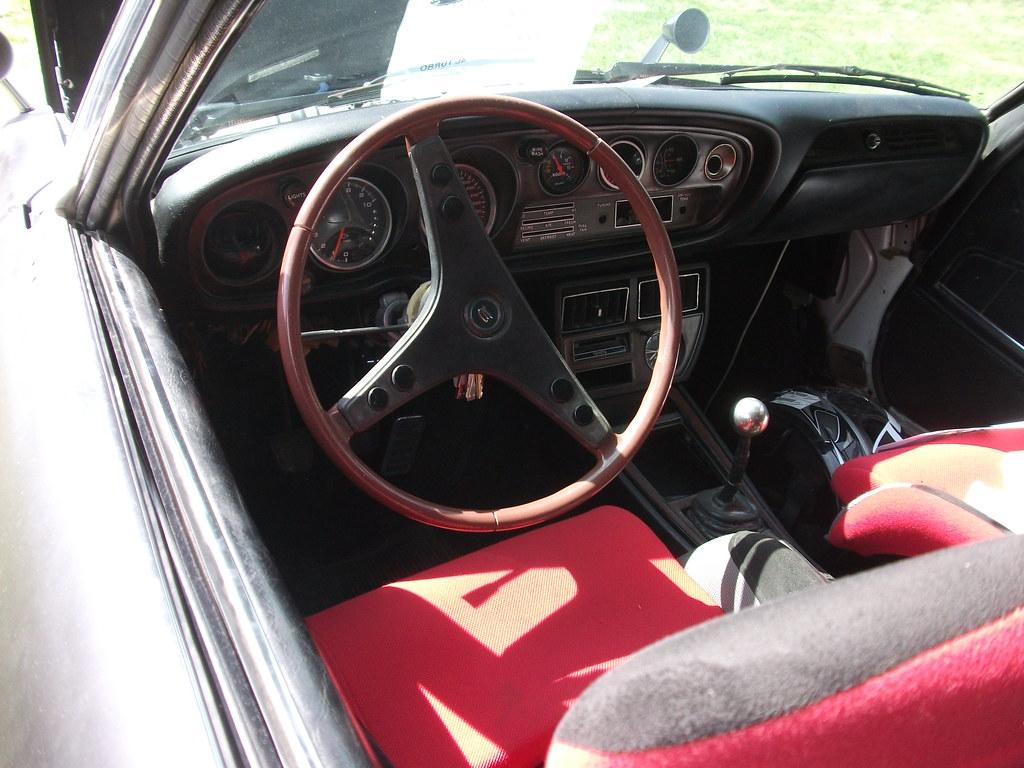 1973 Toyota Celica Interior 1973 Toyota Celica With