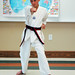 One World, Many Stories :: Week 4 :: Tae Kwon Do Demonstration :: pose demo 2