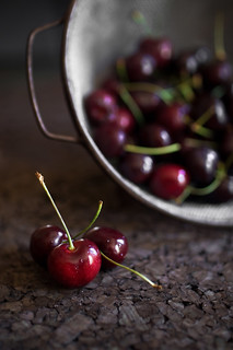 bing cherries | by Rachel Valley