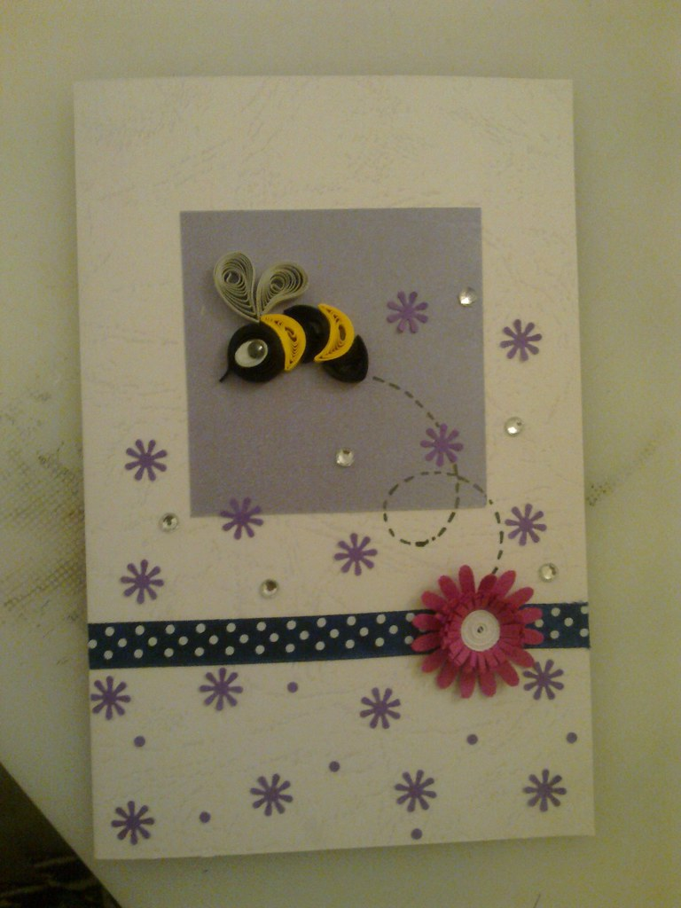 Paper quilling greeting card ruvini de silva sri lanka r flickr paper quilling greeting card by ruvini de silva m4hsunfo