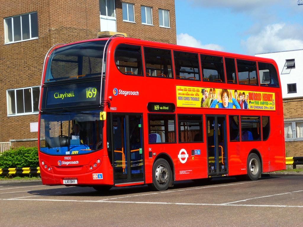 Stagecoach London Alexander Dennis Enviro 400 19800 Flickr