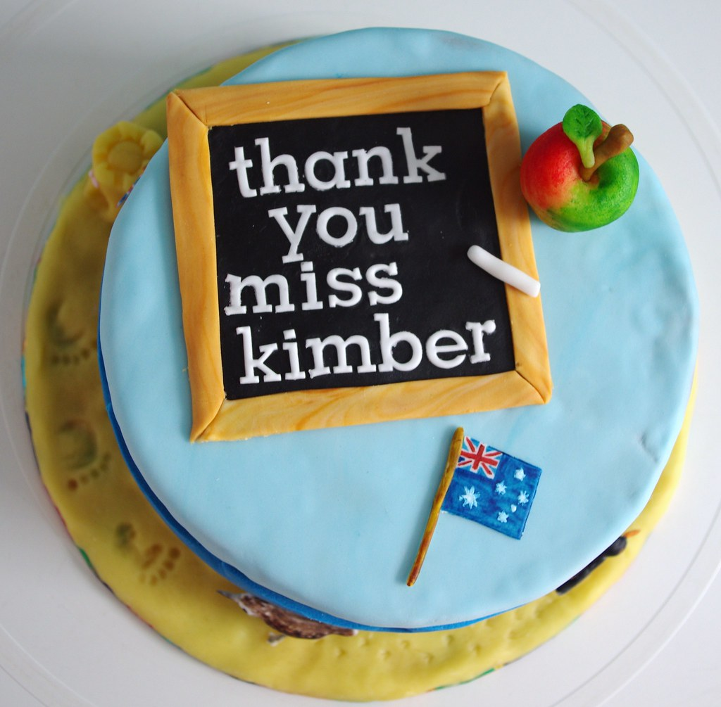 Teacher thank you cake Nicola Flickr