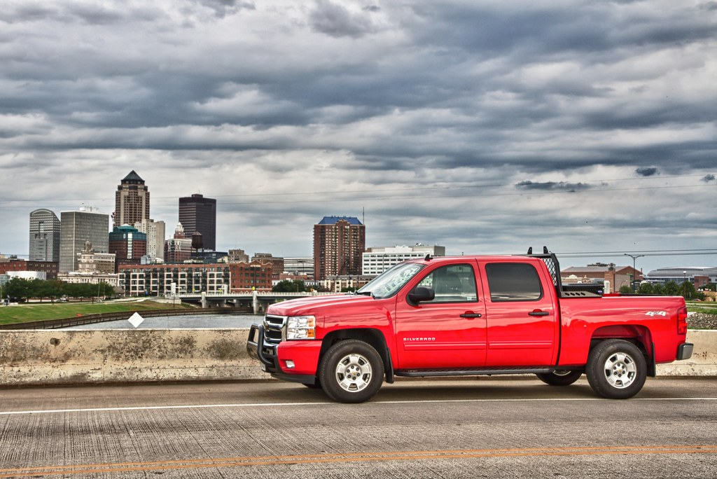 Red Truck in Des Moines | This is our company truck at a ...