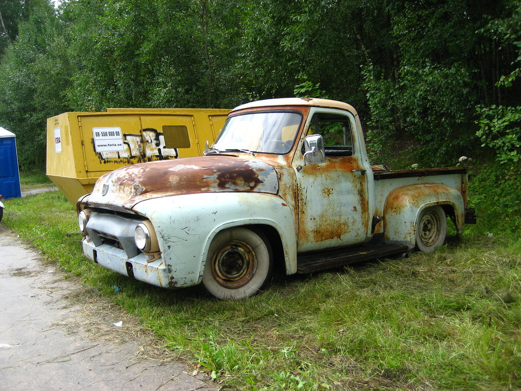 Classic ford pickup truck | Knase | Flickr