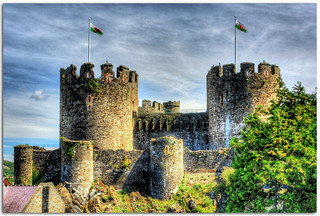 HDR of Conwy Castle | by Saberlynx