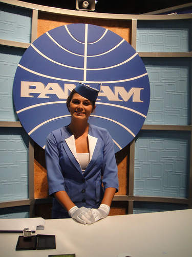 San Diego Comic-Con 2011 - Pan Am flight attendant | by Doug Kline