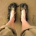 Lake Eyre mud feet