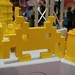 User created models at the LEGO booth - San Diego Comic Con - 4