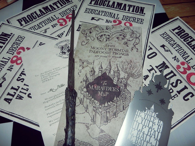 Proclamations wand yule ball invitation Hogwarts letter Flickr