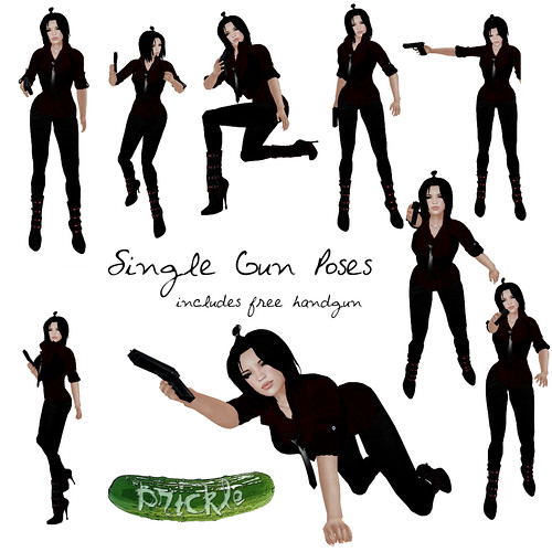 Single Gun poses ad | by Darkley Aeon