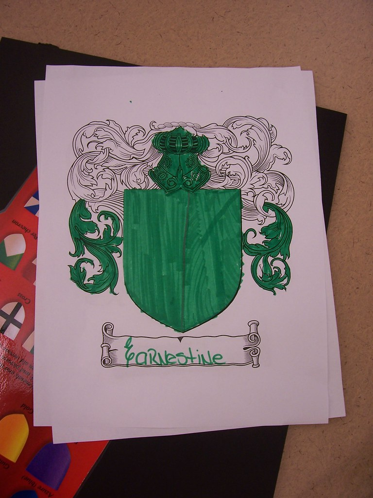 how to make your own coat of arms