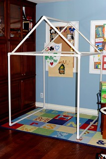 PVC Pipe Fort/Playhouse Tutorial | by AngryJulieMonday