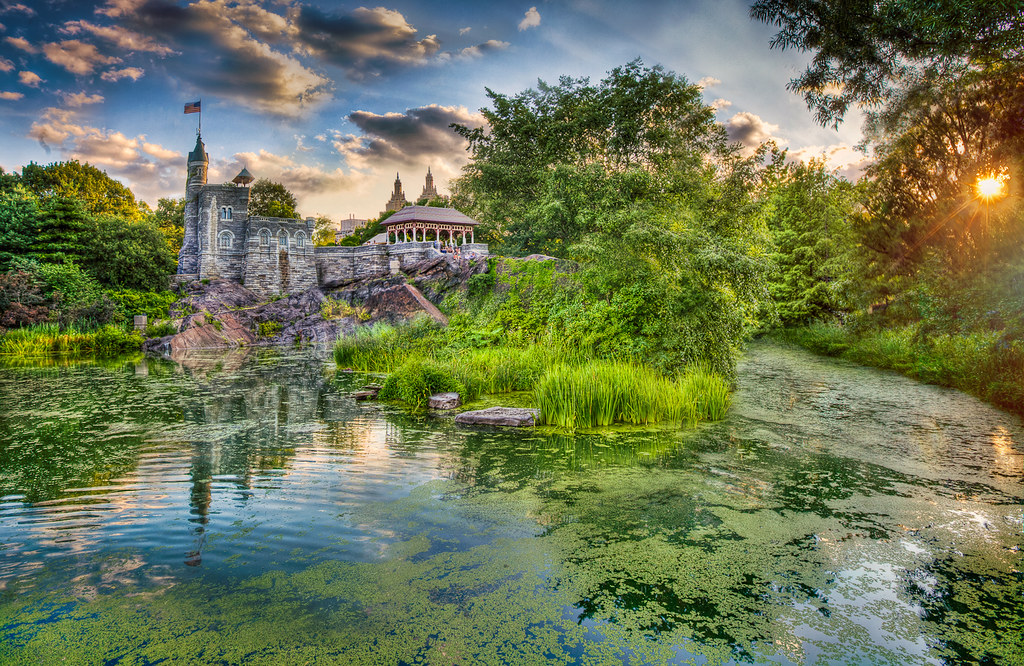 Belvedere Castle, Central Park, NYC   5DMKII + 16-35mm, f ...