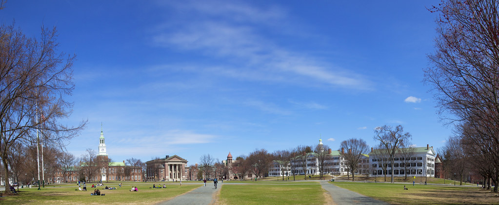 Dartmouth College Campus | Photo by Joseph Mehling '66 ...