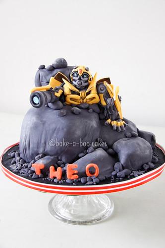Bumblebee Transformers Cake My Favourite Yellow Autobot
