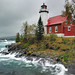 """Gloomy Gales""   Eagle Harbor Lighthouse - Eagle Harbor , Michigan"