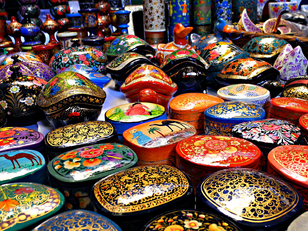 Indian Handicrafts From Kashmir Ann Santonia Flickr