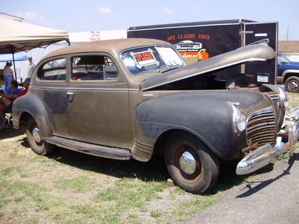 83 1941 Plymouth Parts 2 Door Coupe Rusty Car 4 Sedan
