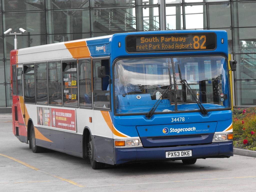 ... Stagecoach Merseyside 34478 PX53DKE   by Alan Sansbury