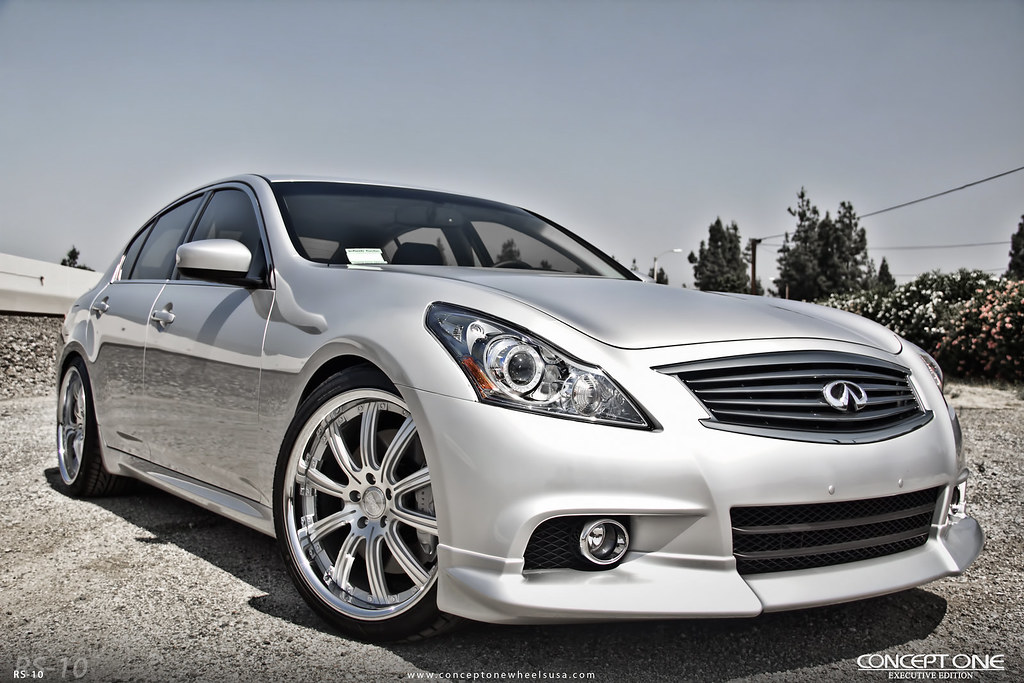 2011 infinti g37s sedan on concept one executive rs 10 flickr