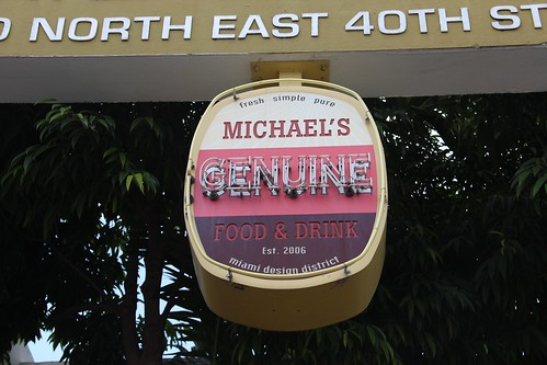 Michaels Genuine Food | by photogourmand