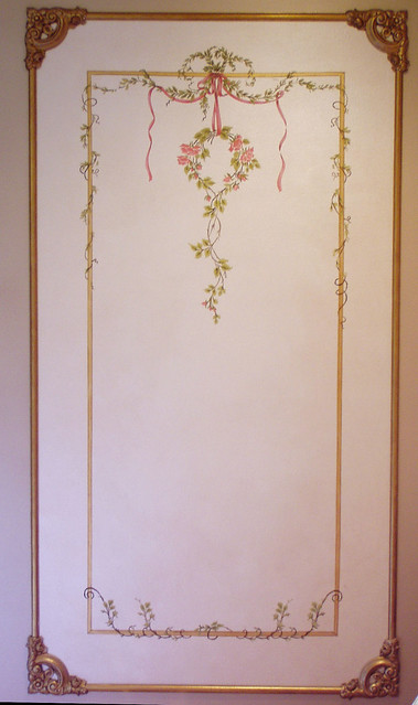 French Wall Covering : French renaissance wall panel beaux artes