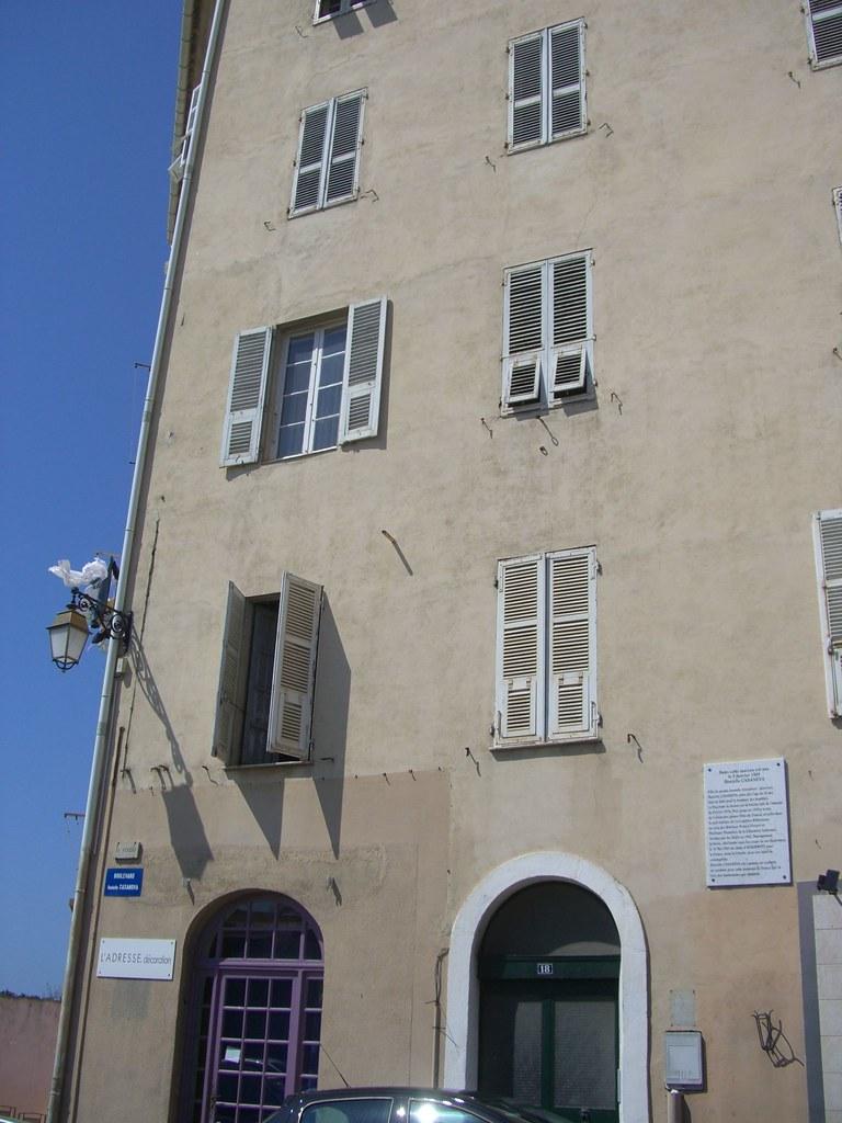 Maison natale de danielle casanova n e vincentella perini for Garage danielle casanova