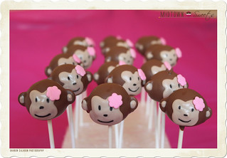 Monkey Cake Pops | by MidtownSweets