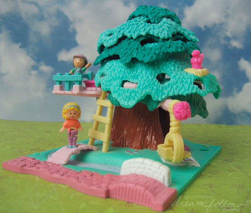 Polly Pocket treehouse | by merwing✿little dear