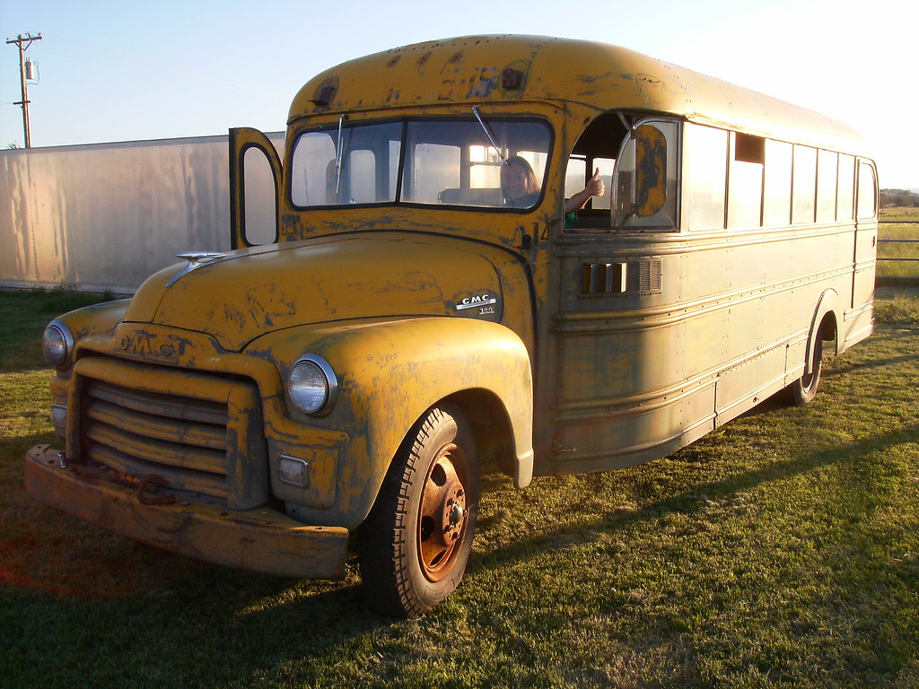 Gmc Motorhome For Sale >> 1955 Carpenter / Steelcraft school bus on 1954 GMC chassis… | Flickr