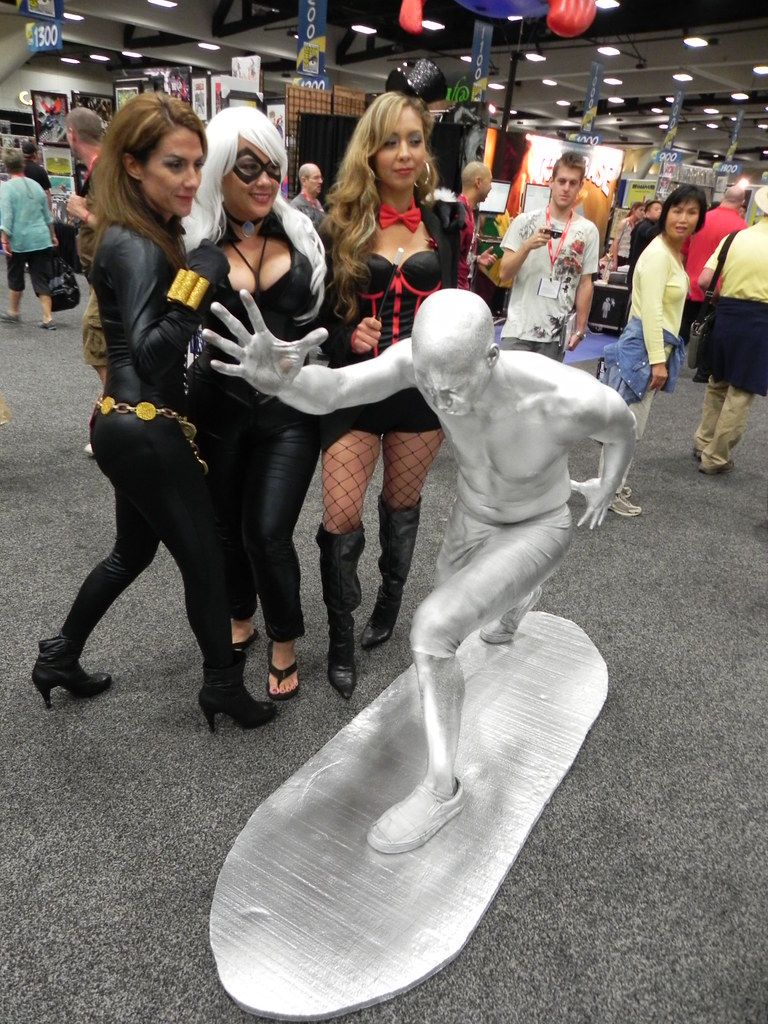 Silver Surfer and friends | Brittney Le Blanc | Flickr