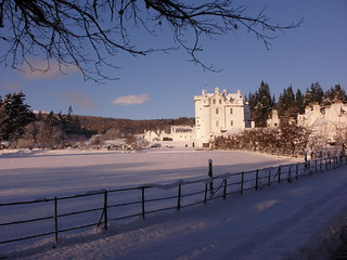 Blair Castle in the Snow | by oldmanmackie