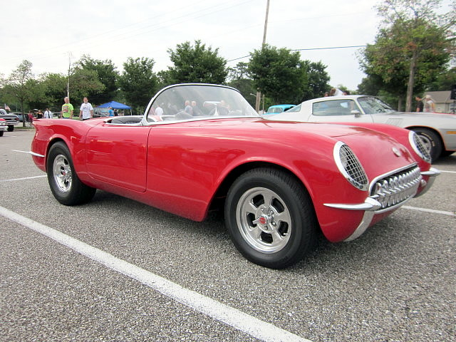 1953 chevy corvette kit car built on an s 10 frame with for Chevy truck with corvette motor