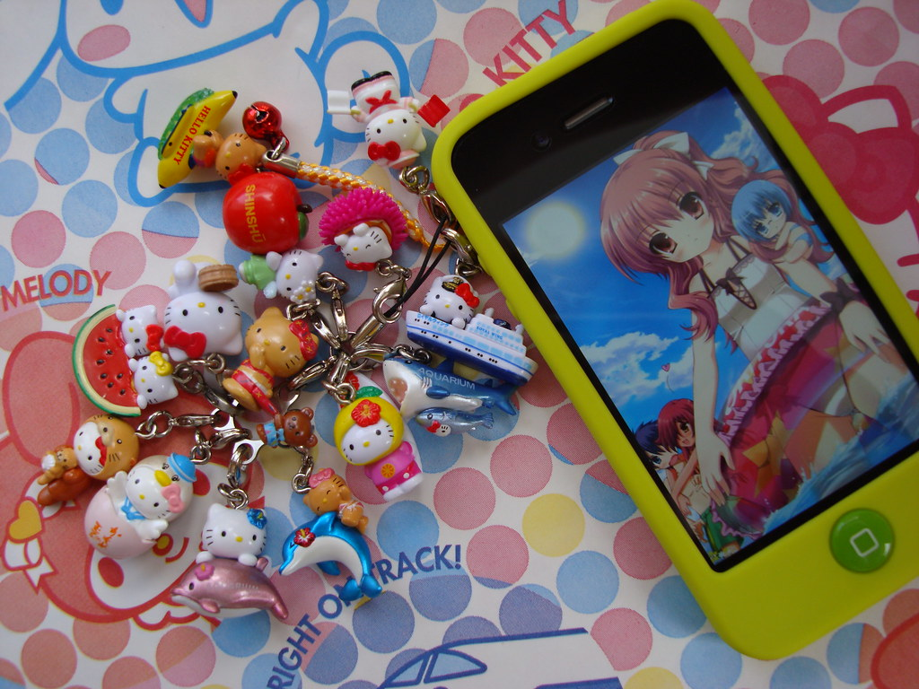 Hello Kitty Special Decoration For Summer With Anime Kawai Flickr