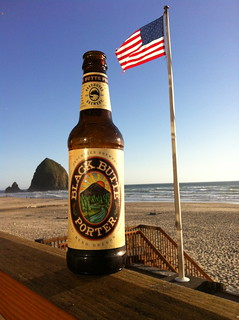 Fans from Ohio took this photo in Cannon Beach, OR! | by DeschutesBrewery